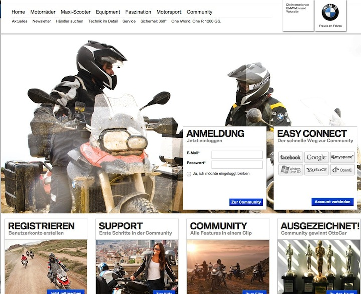 BMW Motorrad Community of all brands.