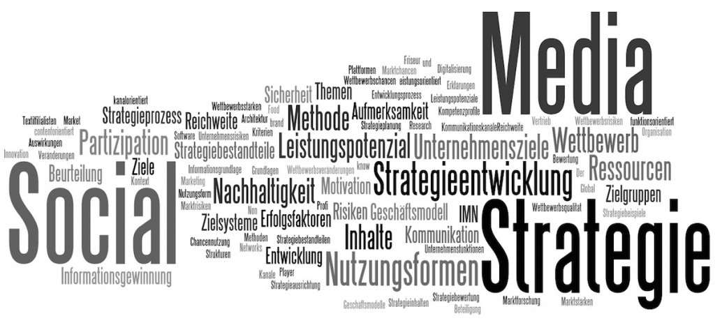 Socia Media Strategie - Inhalt des Leitfades für Social Media Strategie